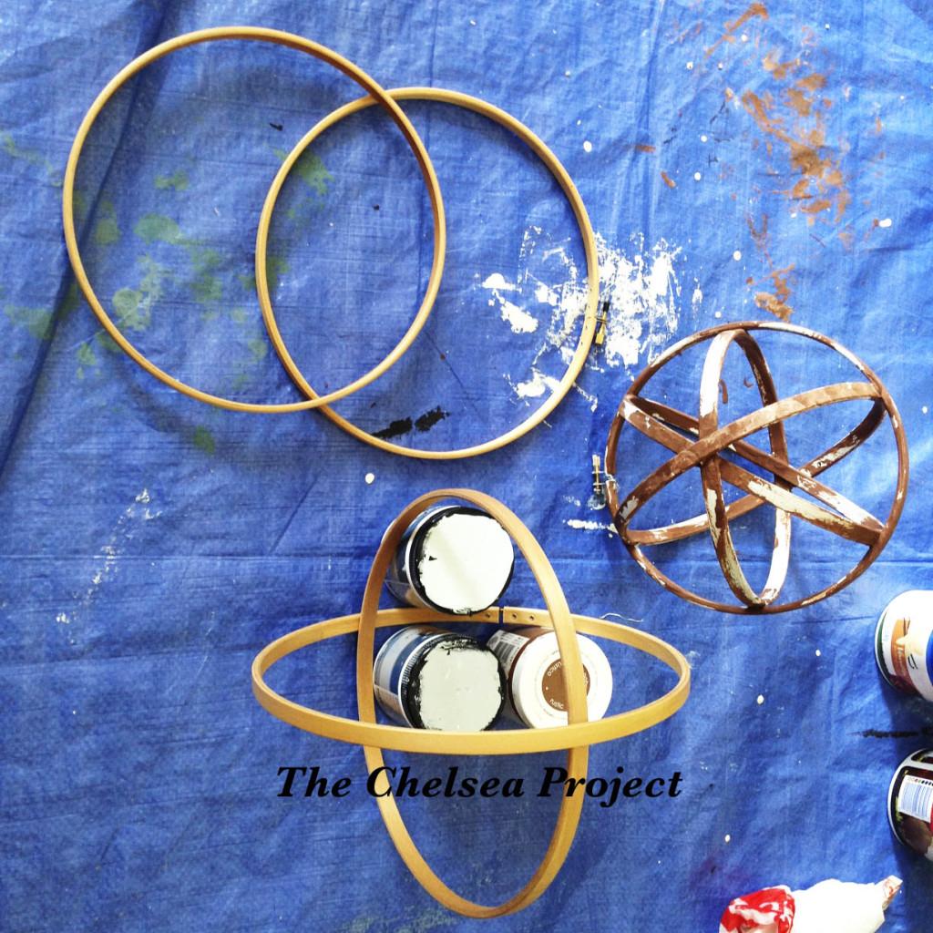 How to Make A Decorative Orb Step #2 via TheChelseaProjectBlog.Wordpress.com