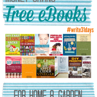Money Saving: free eBooks for home and garden
