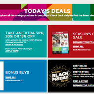 Kohls Christmas – Black Friday deals and coupons