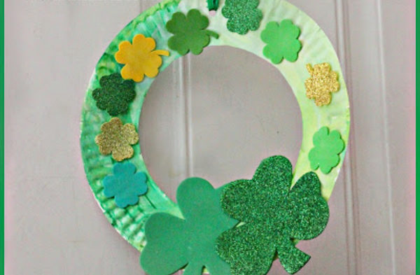 Home Linkup 25 - Irish Wreath for Kids