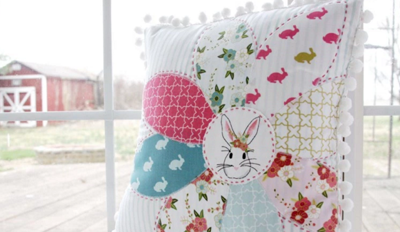 Frugal Friday - spring pillow