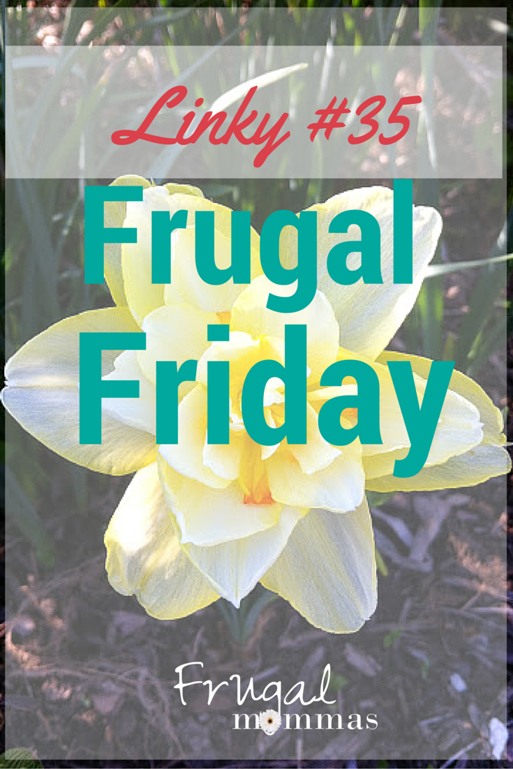 Frugal Friday Linky 35