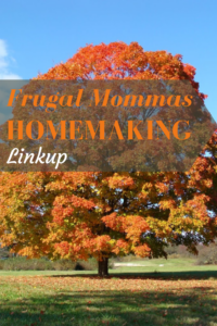 frugal mommas homemaking