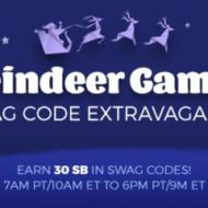 Bonus Gift Card Points with Swag Code Extravaganza