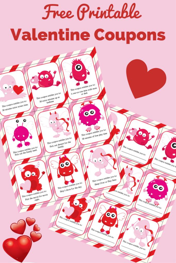 Free Printable Valentine Coupons