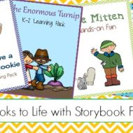 Bring Your Favorite Picture Books to Life with 4 Printable Activities