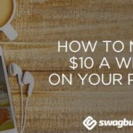 How to Earn $10 Weekly with Your Phone Using Swagbucks