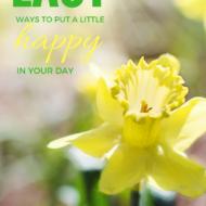 Easy Ways To Feel Happier