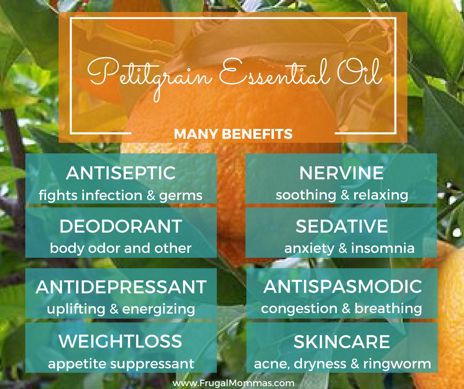 Many Benefits of Petitgrain Essential Oils