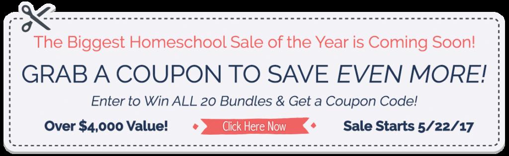 coupon for homeschool
