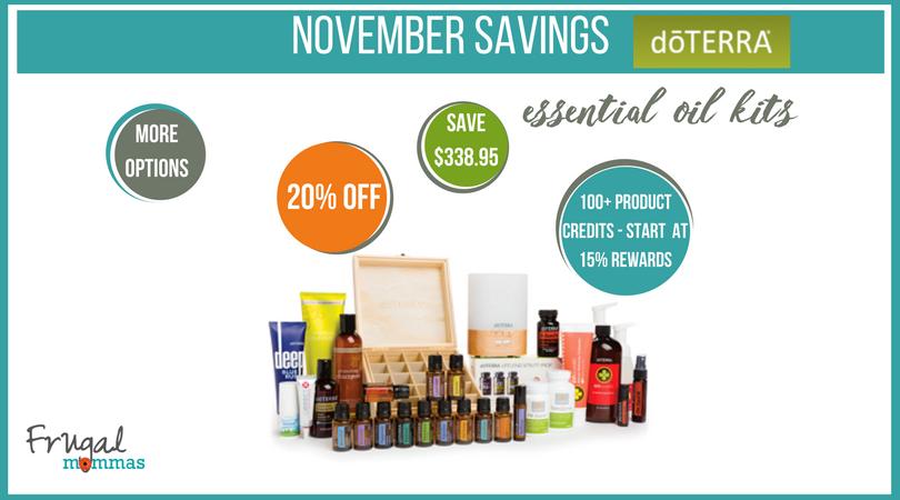 essential oils savings