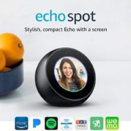 Echo Spot on SALE – Stylish Echo Spot with Screen!