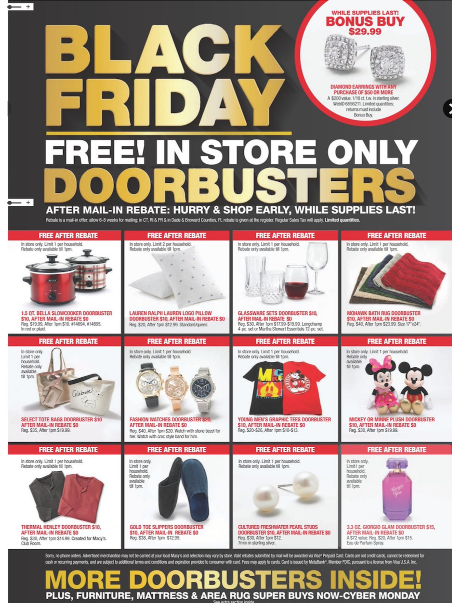 Macy's Black Friday Ads 2018