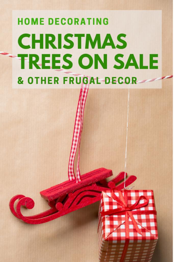 Christmas Trees on Sale