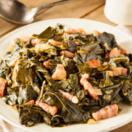 Keto Collards with Bacon a Southern Tradition