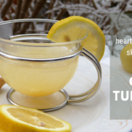 Healthy Weight Loss Lemon Ginger Turmeric Tea