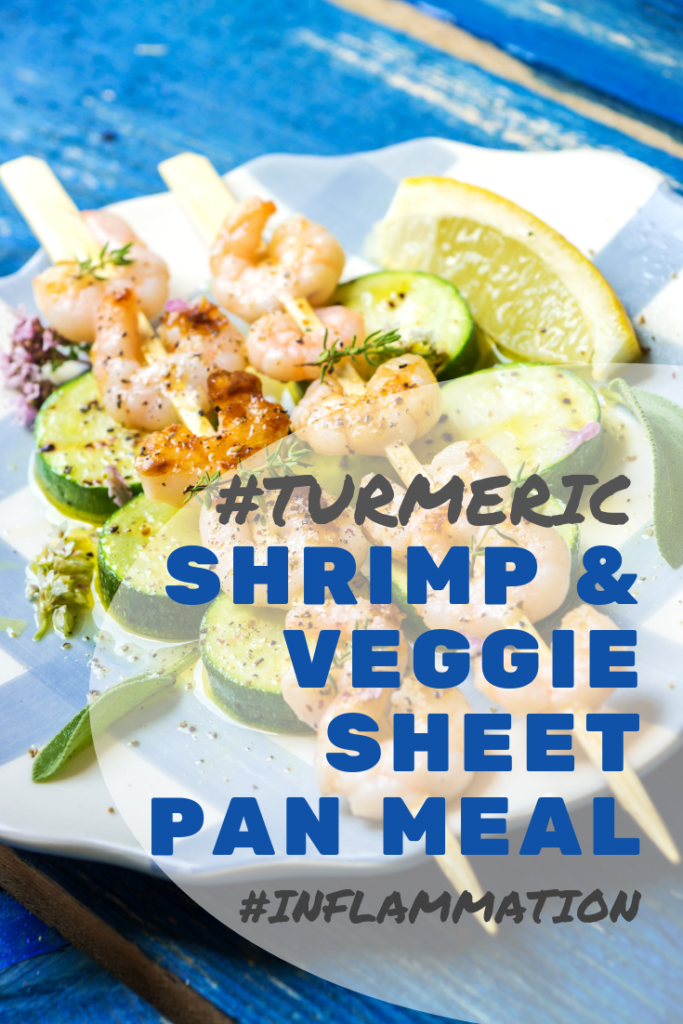 Turmeric Shrimp Vegetable Sheet Pan Meal