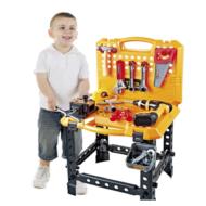 Kids Construction Toy Workbench