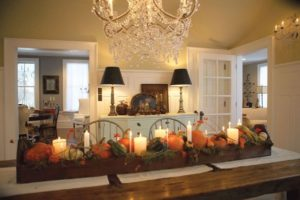 Fall Center Piece Painting