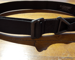 BLACKHAWK Tactical belt review