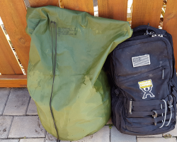 Government Issued Waterproof Bag Review