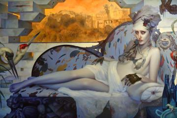 Dan Quintana Oil Painting 000