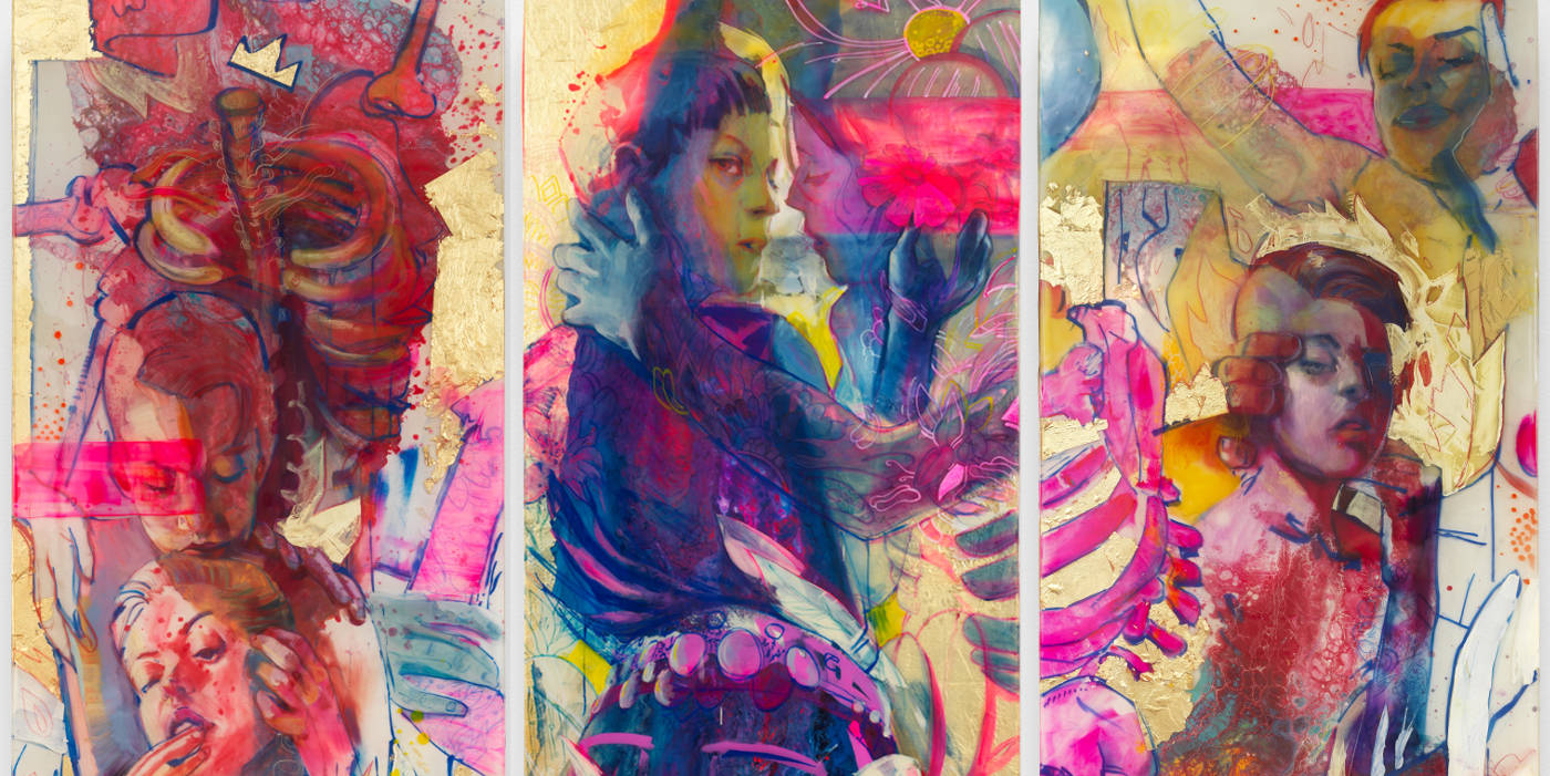 Marc Scheff This is not a Riot triptych