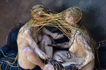 "Jessica Dalva Sculpture ""Mutually Assured Destruction"""