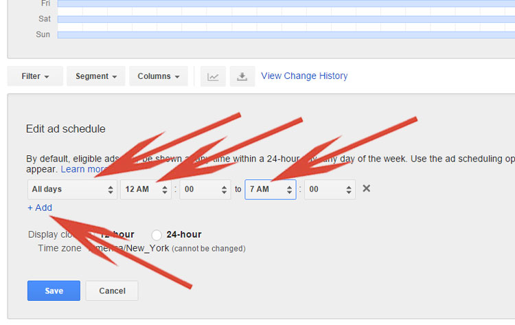 Google Shopping - Creating A Custom Ad Schedule