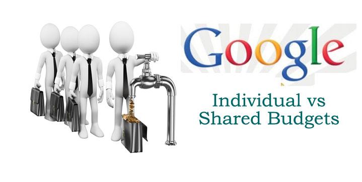 Individual Vs. Shared Google AdWords Budgets