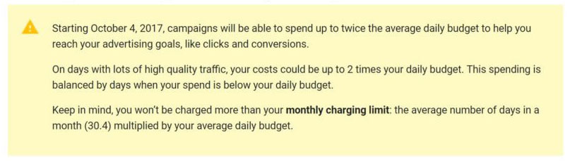 Daily Budget Notification