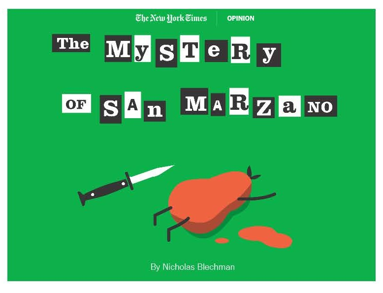 The Mystery of San Marzano - The New York Times