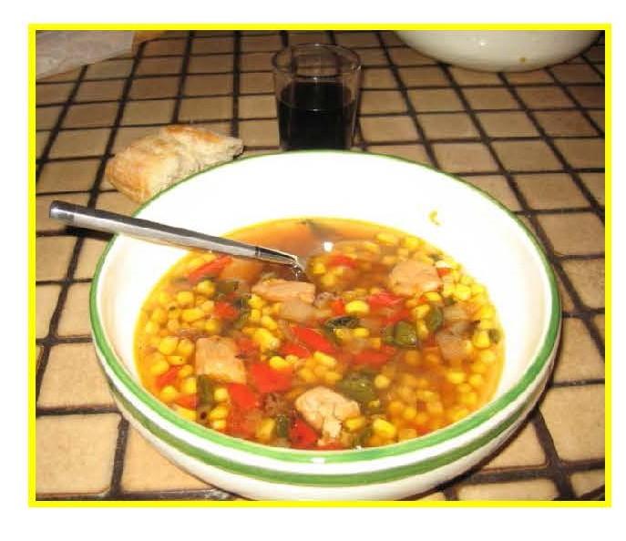Navajo Corn Soup ingredients