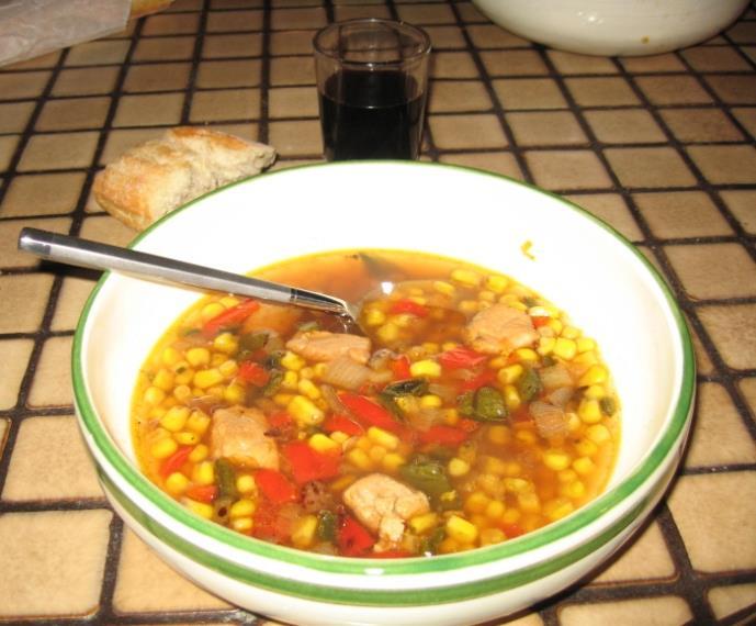 Navajo Corn Soup