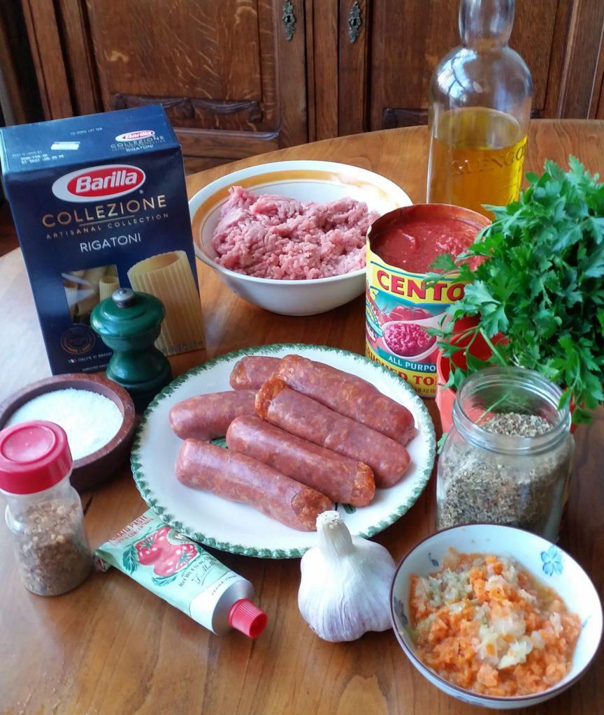 Calabrese Pork Ragu