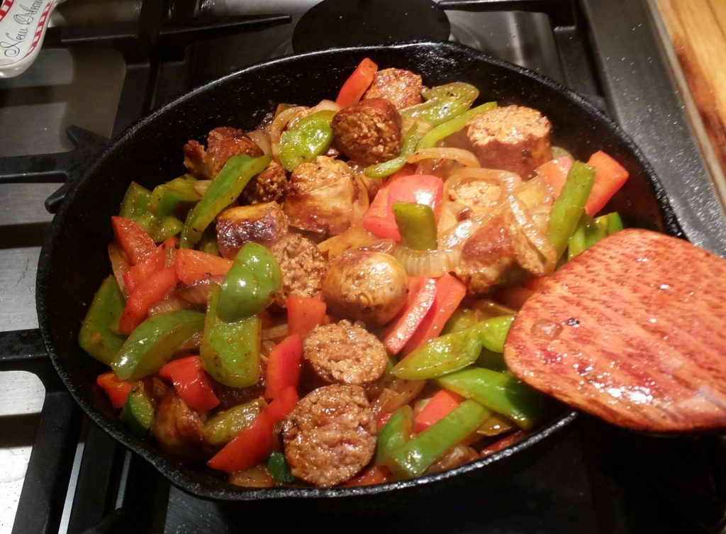 Sausage and Peppers with a Twist