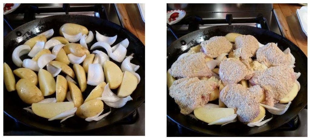 Breaded Roast Chicken Thighs