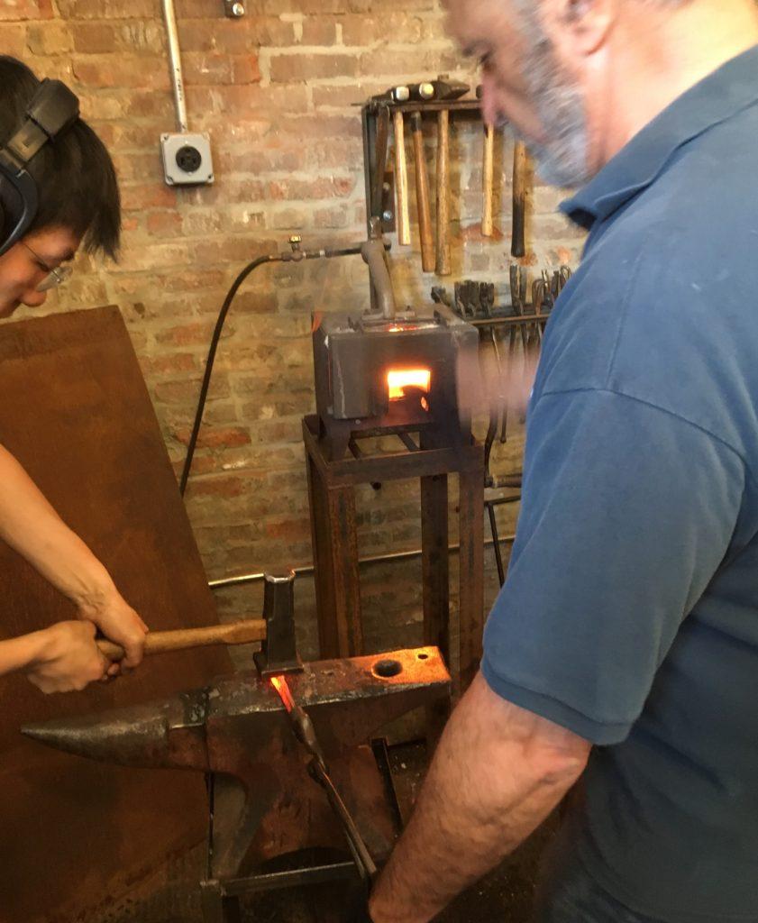 Forging a Kitchen Knife