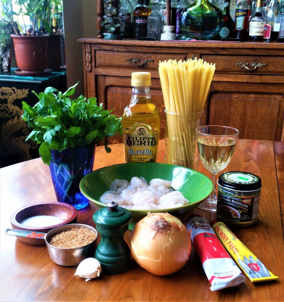 Shrimp and Breadcrumb Sauce