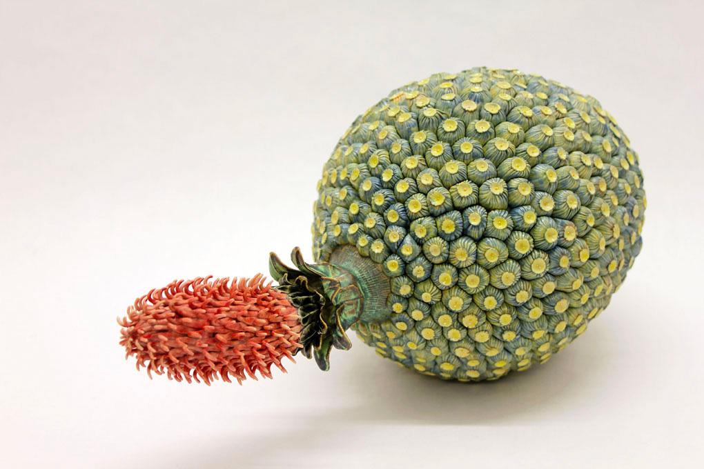 Ceramic Fruit.