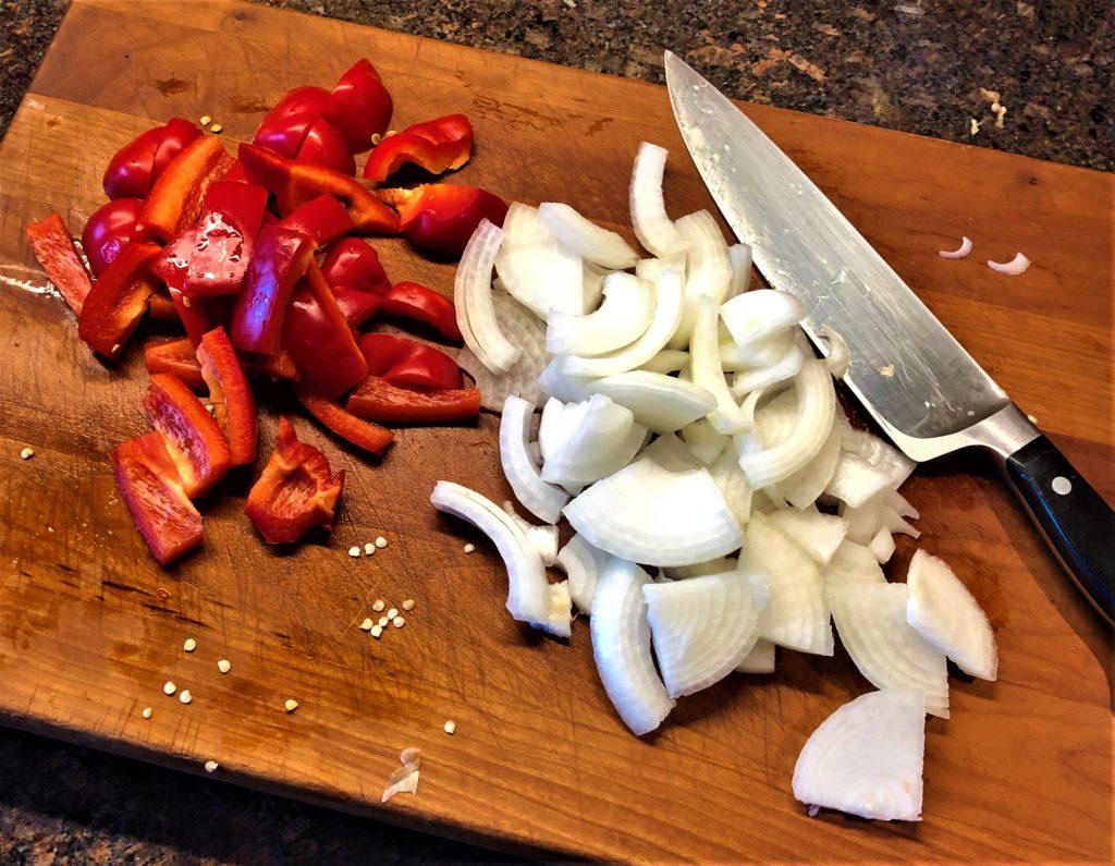 Mushroom and Pepper Pasta Sauce