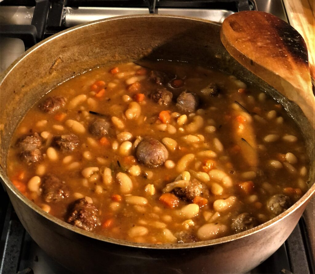 Sausage and Bean Stew