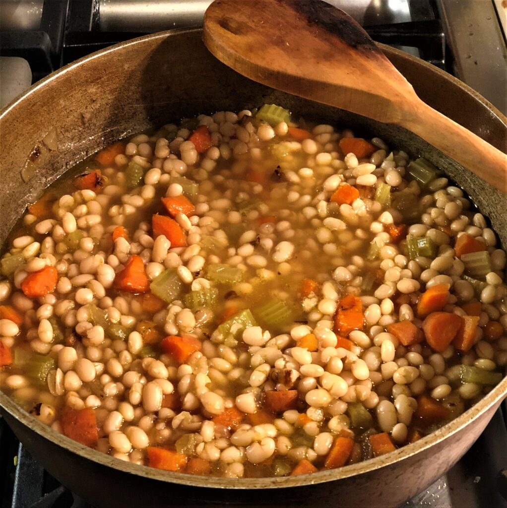 Shrimp and Bean Soup