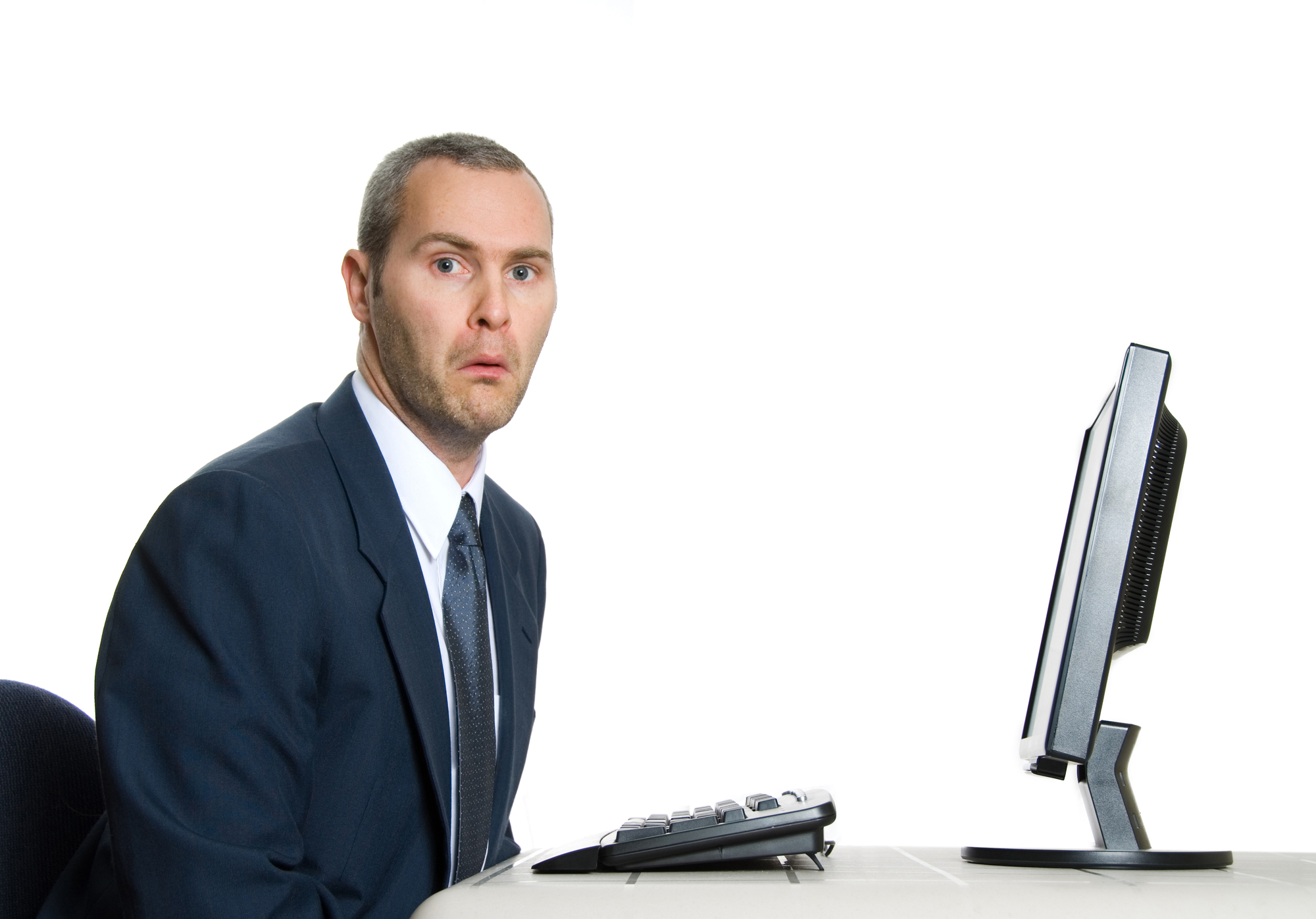Man unhappy with poor IT support