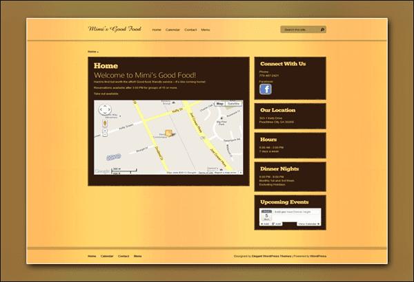 Mimi's Good Food Peachtree City by Vibrant Web Creations Peachtree City Website Designer
