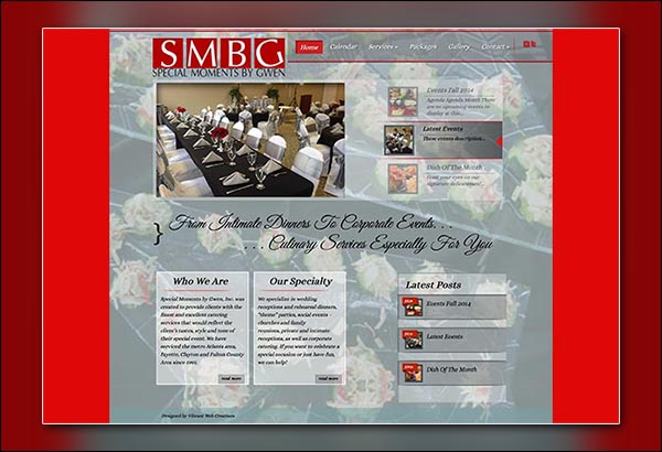 Special Moments By Gwen - Riverdale | Fayetteville GA Website Designed by Vibrant Web Creations