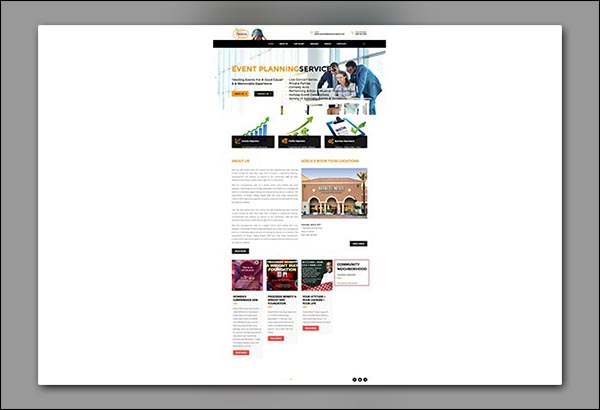 PHP website design by Vibrant Web Creations in Fairburn GA
