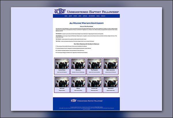 UBF Website Created by Vibrant Web Creations in Atlanta GA