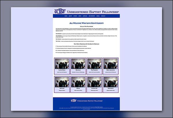 UBF Website Created by Vibrant Web Creations in Atlanta GA