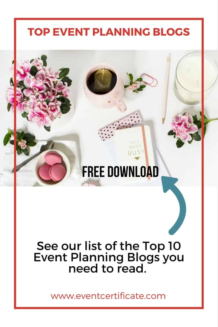 top event planning blogs pinterest